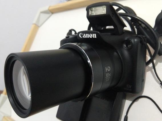Canon Sx400is Superzoom Com 30x De Zoom 16mb Resolução