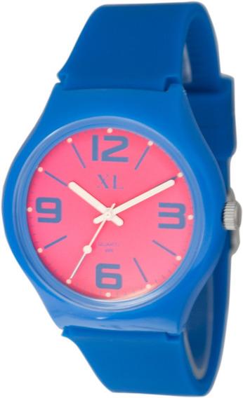 Reloj Xl Extra Large Moda Malla Silicona Dama Xl402
