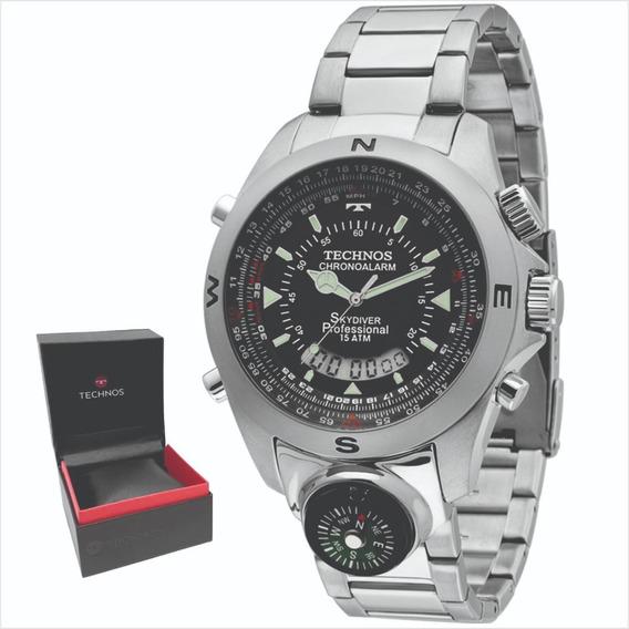 Relógio Technos Skydiver Original Garantia 1 Ano Envio 24 Hs