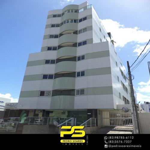 Apartamento Com 2 Dormitórios Para Alugar, 46 M² Por R$ 1.700,00/mês - Manaíra - João Pessoa/pb - Ap4230