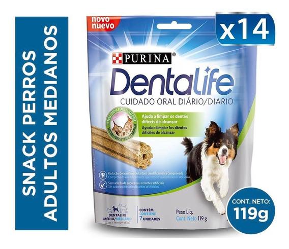 Pack Snack Perros Dentalife® Adultos Medianos 119g