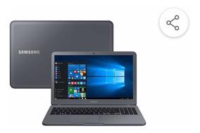 Notebook Samsung Essentials Preto