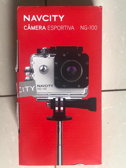 Câmera Esportiva Full Hd Navcity Ng100