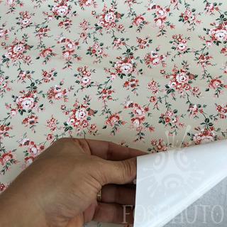 Papel Contact Adesivo Geladeira Parede Moveis Floral Vitral