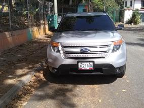 Ford Explorer Xlt 4x2 Año 2013