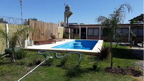 Casa Venta 1 Dormitorio Y Piscina-lote De 12 X 26,5 Mts - Lisandro Olmos Etcheverry