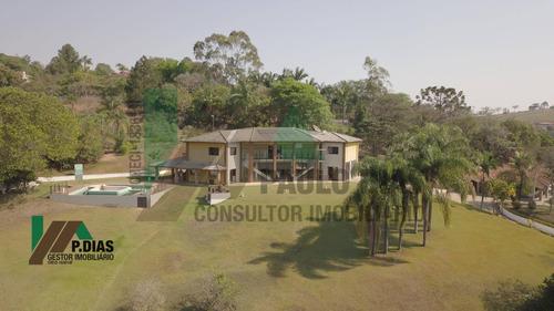 Chácara Alto Padrão Em Pinhalzinho, Região Do Circuito Das Águas. - Ch0289