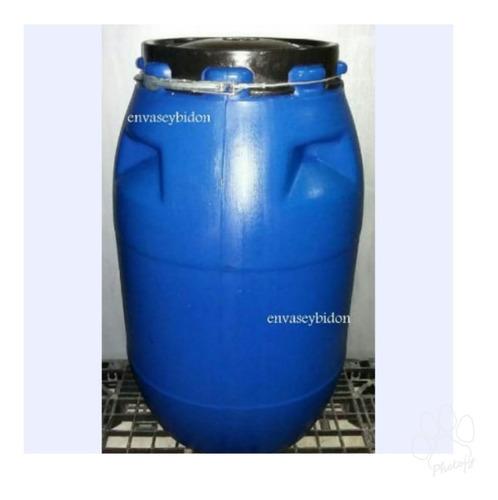 Bidon Plástico 200 Lts Tapa Araña Desmontable