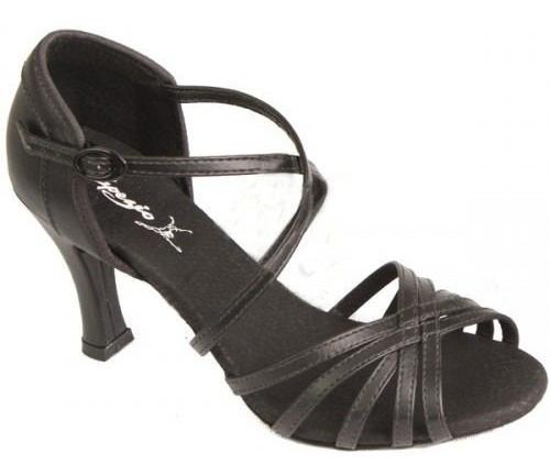 Sandália Para Dança De Salão Festa - Fantasia (preto)