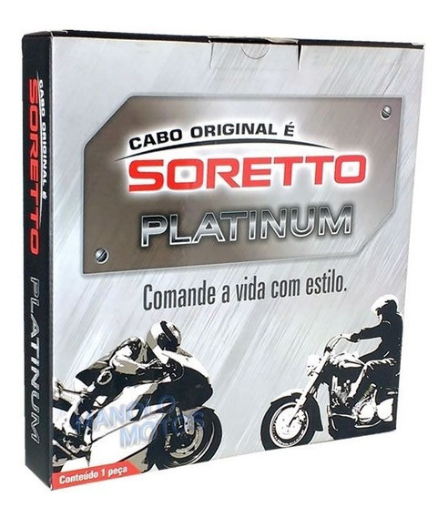 Kit Cabo Acelerador A+ B Cb1000r 12/15 - Soretto Platinum