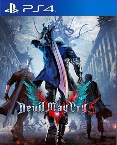 Devil May Cry 5 Ps4 Locação 10dias Dmc 5