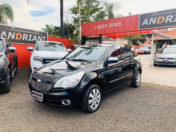 Chevrolet Gm Agile Lt 1.4 Preto 2012
