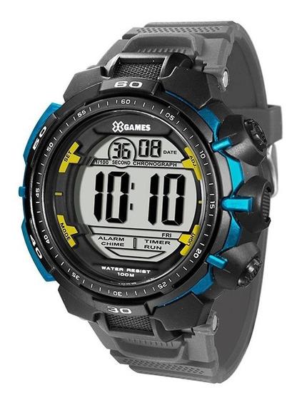 Relógio Masculino Xgames Xmppd405 Bxgx Cinza/preto Orient