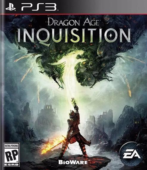 Jogo Dragon Age Inquisition Ps3 Mídia Física