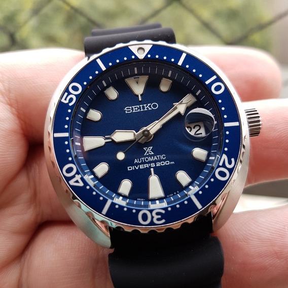 Relógio Seiko Mini Turtle Srpc39k Ñ Skx Samurai Sumo Monster