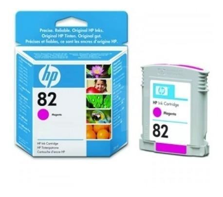 Repuesto Hp Cartuchos Ink Cartridge 82 Cyan Vencidos
