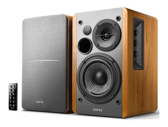 Caixa De Som Edifier R1280db Madeira Monitor Bluetooth - Nf