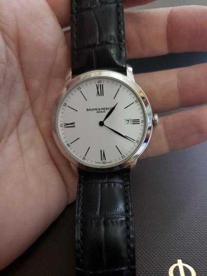 Relógio Masculino Baume Et Mercier Classima Ultra Fino
