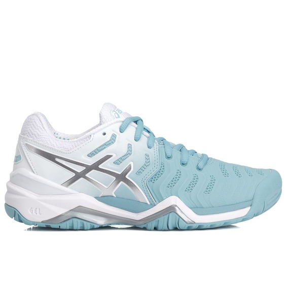 Tênis Asics Gel Resolution 7 Azul Claro