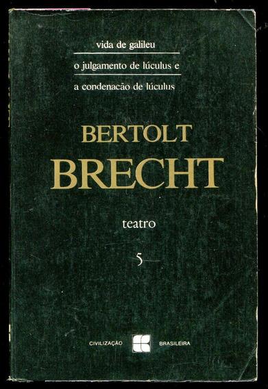 Teatro Bertolt Brecht 5 Volumes (de 6), 14 Peças L.2310