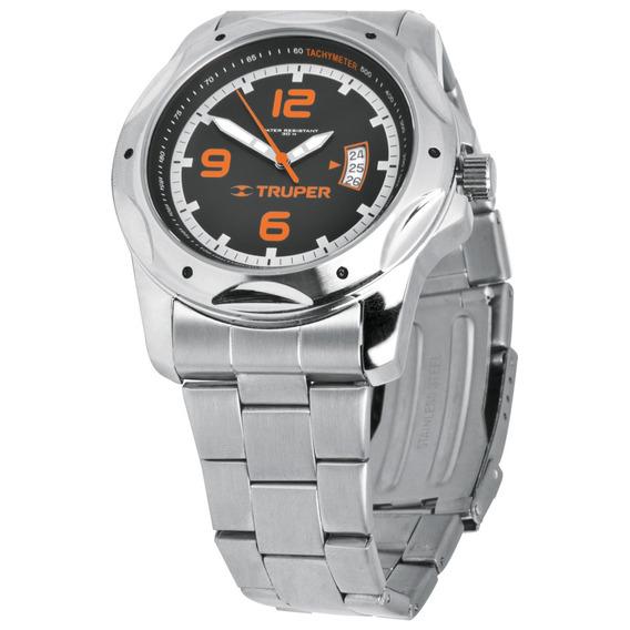 Reloj Para Caballero Acero Inoxidable Truper 60072