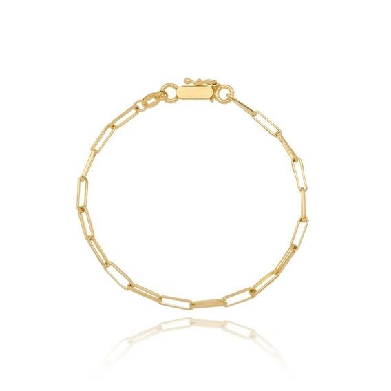 Pulseira Cartier Masculina Folheada A Ouro 18k