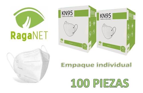 Cubrebocas Kn95 5 Capas Certificación Fda 100 Piezas