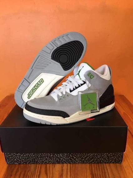 Jordan Retro 3 Chlorophyll (original)