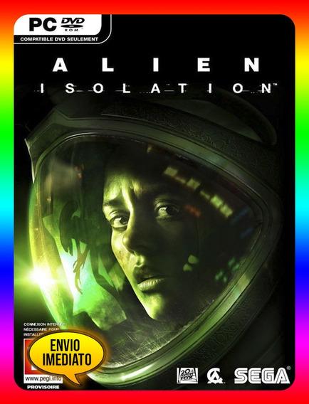 Alien Isolation Pc - Steam Key (envio Já)