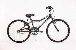 Bicicleta Bassano Cross Varon Rodado 24 Niño Pura Bike