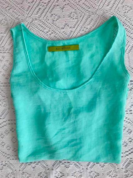 Musculosa Rapsodia! Color Verde Agua. Hermosa!