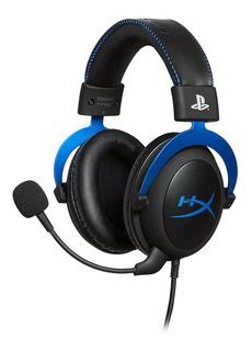 Auriculares Gamer Hyperx Cloud Ps4 Azul Gaming