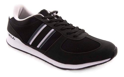 Imagen 1 de 7 de Zapatillas Fila Retro Sport 2.0 V2 Negro Hombre