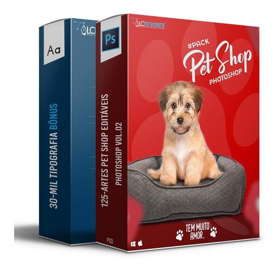 125-artes Mídias Sociais Pet Shop Editáveis Photoshop