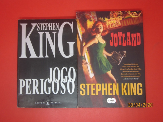 2 Livros Joyland E Jogo Perigoso