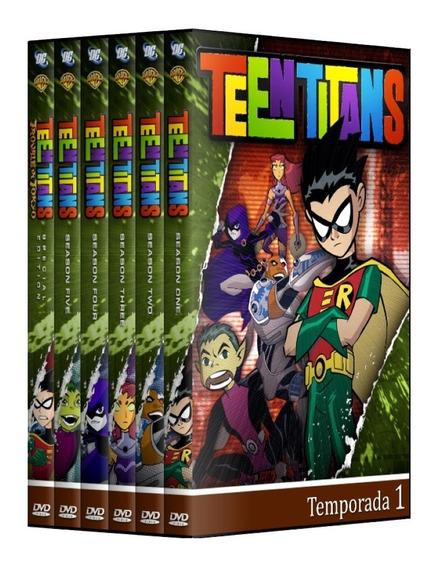 Os Jovens Titãs - Série Completa + Filme Em Dvd