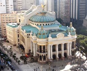 Theatro Municipal Rio De Janeiro Lote De Programas Ópera