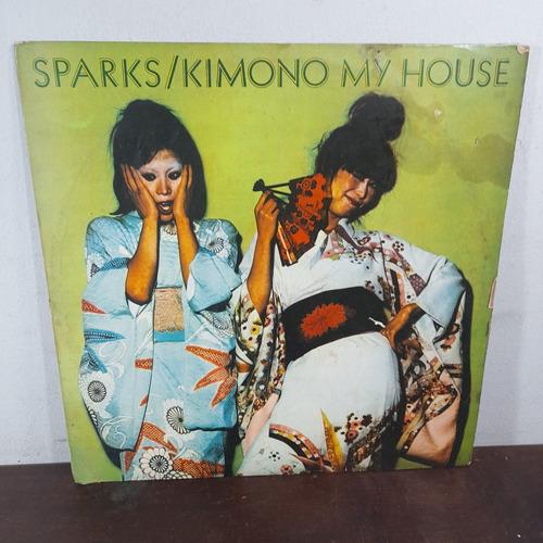 Imagem 1 de 6 de Vinil Lp Sparks Kimono My House Raro