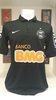 Camisa Futebol Coritiba Preta Nike