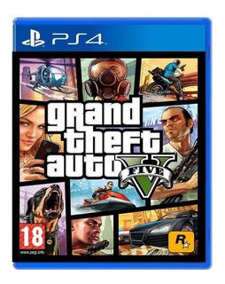 Juegos Sony Ps4 Gta 5 Fisico Nvo /u
