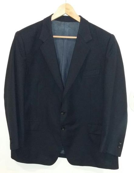 Saco De Vestir Hombre Azul Forrado Talle Xl