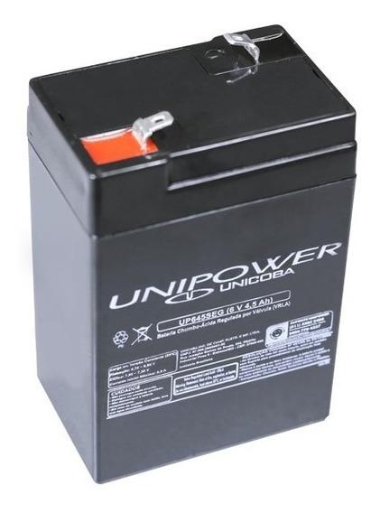 Bateria Selada 6v 4,5ah Unipower - Moto Elétrica, Brinquedos