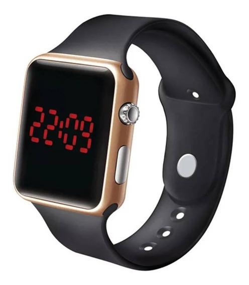 Relógio De Pulso Led Digital Masculino Feminino Barato