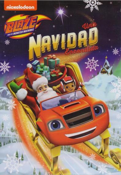 Blaze Una Navidad Encendida Coleccion 4 Episodios Serie Dvd