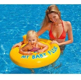 Boia Inflável Baby Bote Conforto Flutuador Seguro Intex