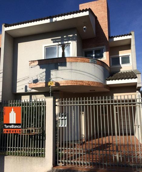 Sobrado Com 3 Dormitórios Para Alugar, 170 M² Por R$ 2.490,00/mês - Estrela - Ponta Grossa/pr - So0117