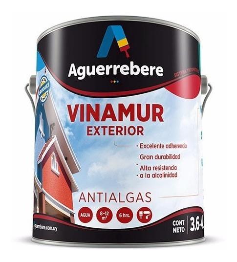 Pintura Exterior Antialgas 4 L Vinamur Aguerrebere