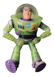 Buzz Lightyear Figura De Acción Original Verde Transparente