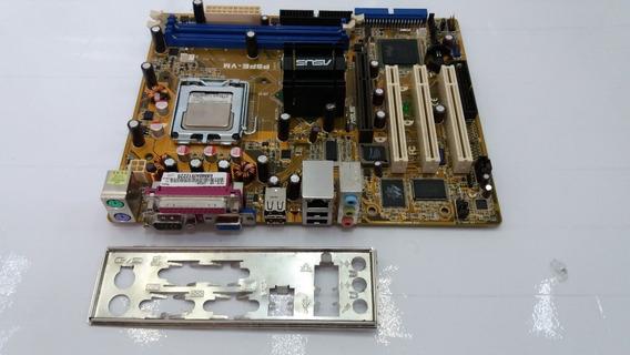 Placa-mãe Asus P5pe-vm Ddr1 Agp + Celeron 2.5ghz (c/ Espelho