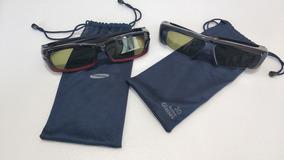 2 Óculos 3d Samsung Seminovos - Ssg-2200ar - Bn81-04629a